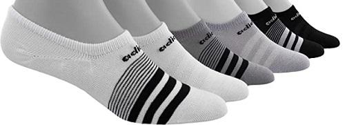 Adidas Womens Super No Show Climate Socks