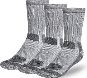 Buttons & Pleats Premium Merino Wool Hiking Socks