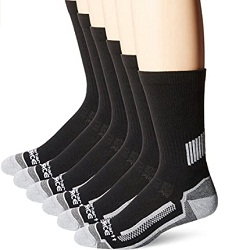 Carhartt Mens Work Crew Socks