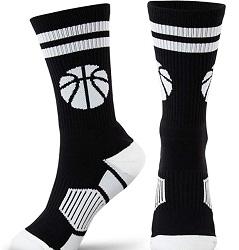 Chalk Talk SPORTS Basketball Woven Mid-Calf Socks