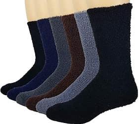 Debra Weitzner Warm Fuzzy Socks