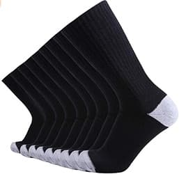 Enerwear-Coolmax Mens Cotton Crew Socks
