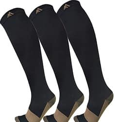 Fuel Me Foot Copper Compression Socks