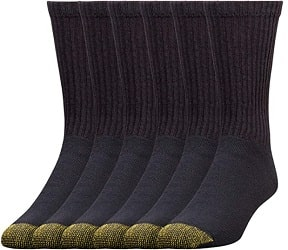 Gold Toe Mens Cotton Crew Athletic Sock