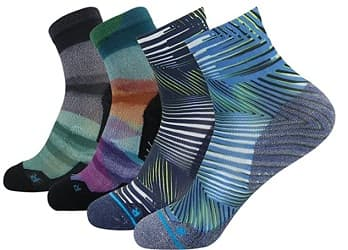 HUSO Unisex Athletic Running Socks