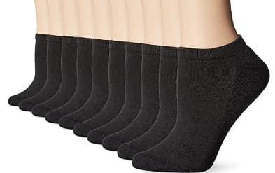 Hanes Womens Multi-Pack No Show Sock
