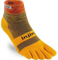 Injinji Mens Trail Crew socks