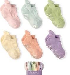LA Active Grip Ankle Socks