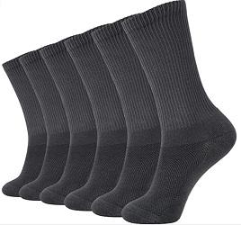 +MD 6 Pack Soft Socks