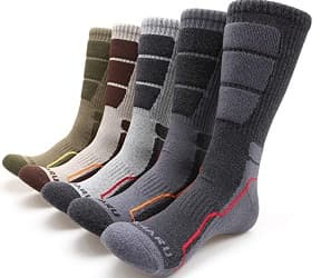 MIRMARU Mens Trail Running Socks