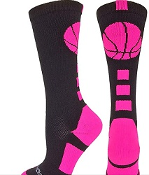 Mad Sports Stuff Basketball Socks