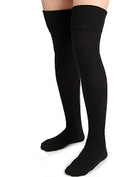 Moon Wood Women Thigh High Socks
