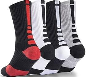 NANOOER Mens Basketball Socks