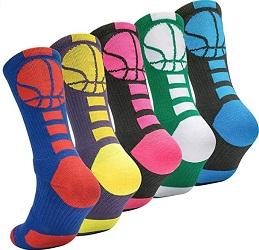 OLCHEE Boys Basketball Socks