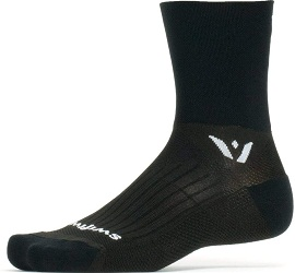 Swiftwick- Trail Running Crew Socks