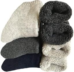 Yoicy Mens Heavy Thick Wool Socks